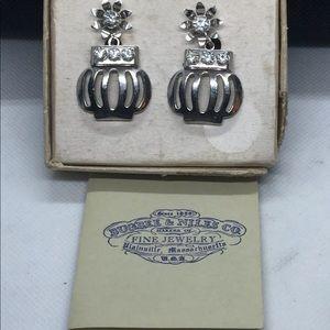 Bugbee & Niles Rhinestone Earrings